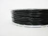 Black Flexible TPE 3D Printing Filament 1.75mm 200g