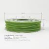 Lush Green Gold Flake Temperature Color Change 3D Printing PLA Filament 225g