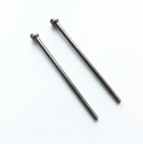 M3-0.5 x 60mm Stainless Steel Internal Hex Socket Cap Screws (2-Pieces) for Active Cooling Fan Duct