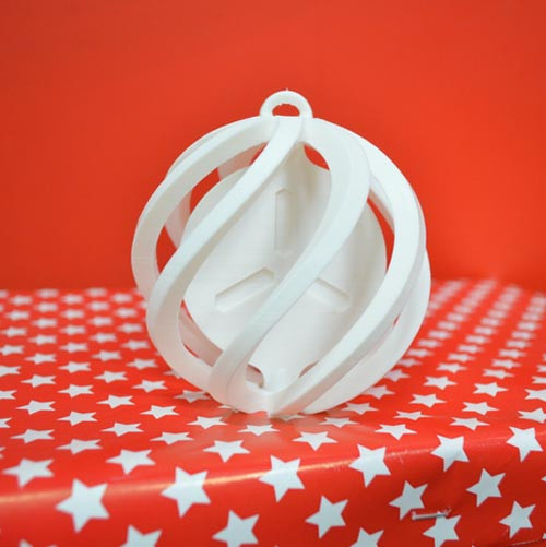 FabShop Spinning Christmas Ball