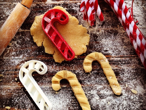 Christmas Candy Cane Cookie Cutter