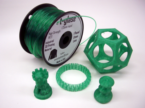 Taulman Green T-Glase Filament - 1.75mm
