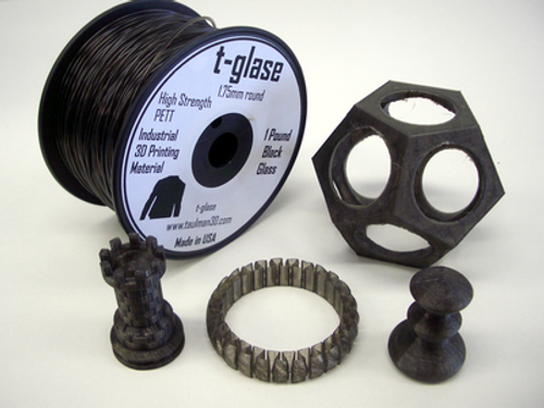 Taulman Black T-Glase Filament - 1.75mm