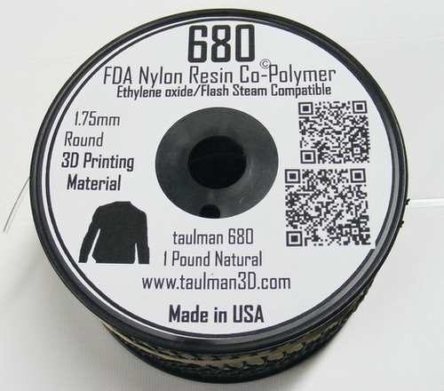 Taulman Nylon 680 FDA Filament - 1.75mm