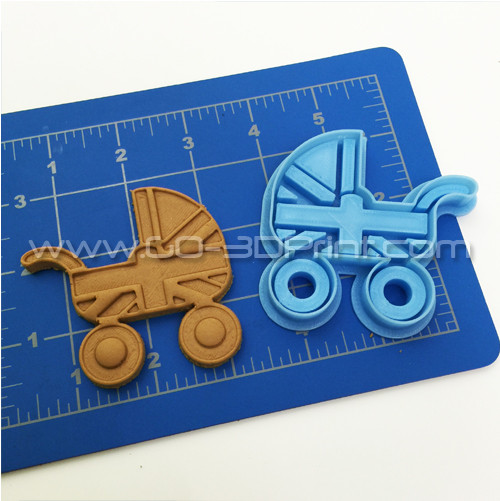 United Kingdom Royal Family Baby Stroller Union Jack Iconic British Flag Cookie Cutter