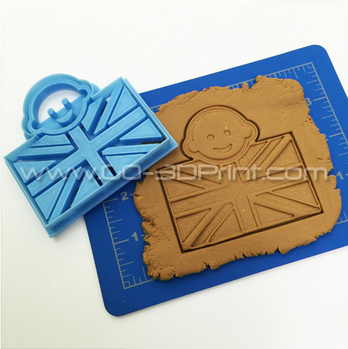 United Kingdom Royal Family Baby Boy Union Jack Iconic British Flag Cookie Cutter