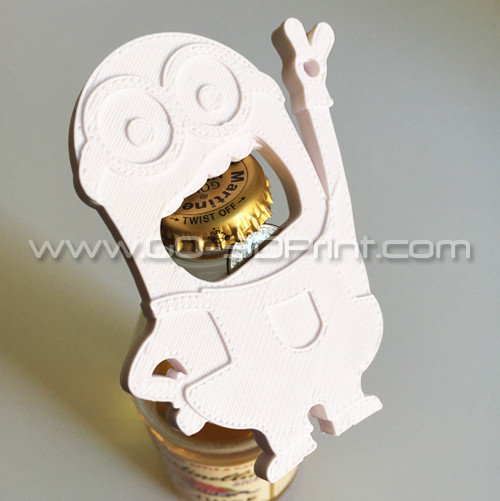 Despicable Me Minion Keychain Beer Bottle Opener