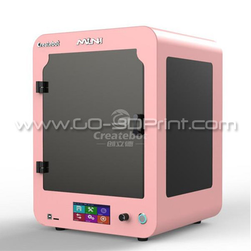 CreateBot Dual Extruder Touch Screen Mini 3D Printer