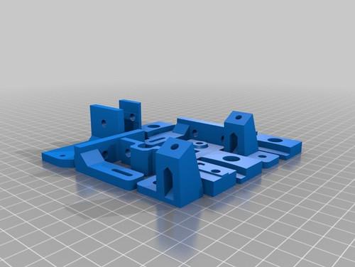 he3d-180/600 delta 3dprinter kit stl