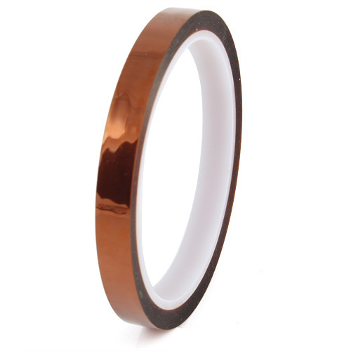 Kapton Tape High Temperature Heat Resistant Polyimide 10mm x 33m for 3D Printers