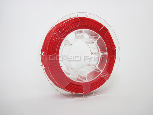 Red Flexible TPE 3D Printing Filament 1.75mm 200g