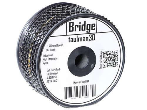 Taulman Nylon Bridge Filament (Black) - 1.75mm