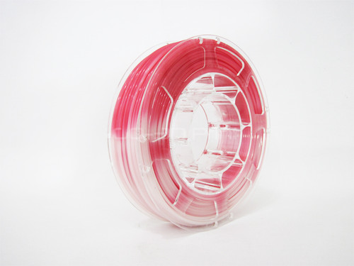 Temperature Color Changing Red to White PLA 3D Printing Filament 225g