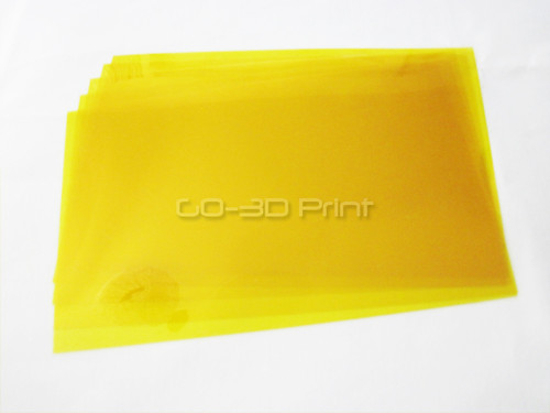 Kapton Heat Resistant Polyimide Tape 150mm x 230m Pre-cut (5 pcs) for 3D Printing