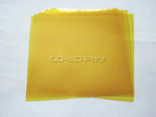 Kapton Heat Resistant Polyimide Tape 200mm x 200m Pre-cut (5 pcs) for 3D Printing