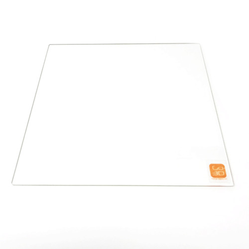 250mm x 250mm Borosilicate Glass Plate for 3D Printing