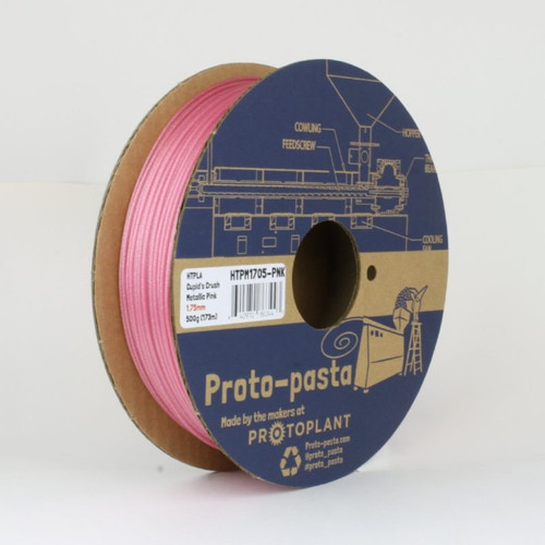 Proto-Pasta Metallic HTPLA - Cupid's Crush Pink 3D Printing Filament 1.75mm (500 g)