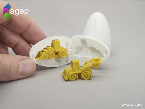 Surprise Egg #3 - Tiny Wheel Loader
