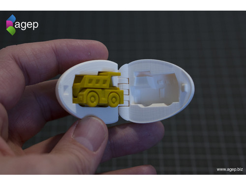 Surprise Egg #1 - Tiny Haul Truck