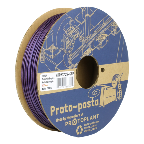 Proto-Pasta Metallic HTPLA - Galactic Empire Purple  3D Printing Filament 1.75mm (500 g)
