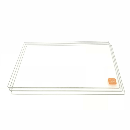 150mm x 230mm Borosilicate Glass Plate for 3D Printing - 3 Pcs