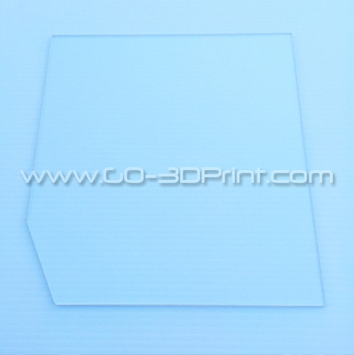 260mm x 280mm Borosilicate Glass Plate for Builder 3D Printer