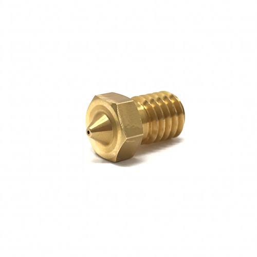 High Quality 0.4mm Brass Nozzle for E3D V6 J-Head M6 Thread 3D Printer