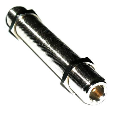 4-Inch - Type N Double Female Bulkhead Connector