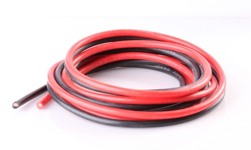 14 AWG Zip Cord Wire Red Black Twin Conductors - Per Foot