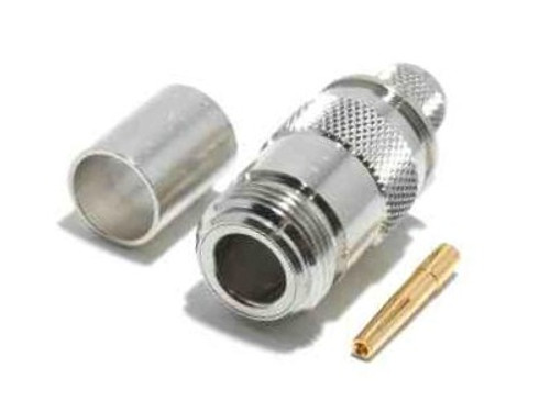 N-Female Coaxial Cable Crimp Connector for LMR195 - ARS-G306-LM195