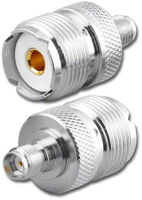 SO239 UHF-Female to SMA-Female Coaxial Adapter RFA-8181