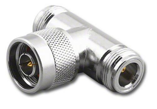 N Female-Male-Female Tee Coaxial Adapter T (RFN-7659)