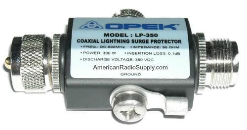 OPEK LP-350B - Arc-Gas Lightning Transient Voltage Surge Protector