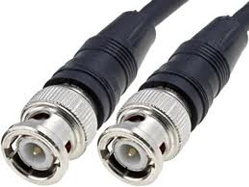 25 Foot - RG-58A BNC Coaxial Cable - Stranded Center Conductor 50-Ohm