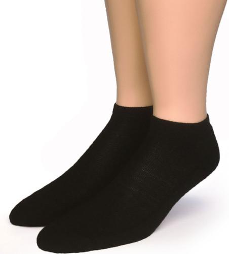 Quarter No Show Alpaca Socks  Front