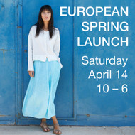 European Spring Launch 2018 - Saturday, April 14, 10 – 6