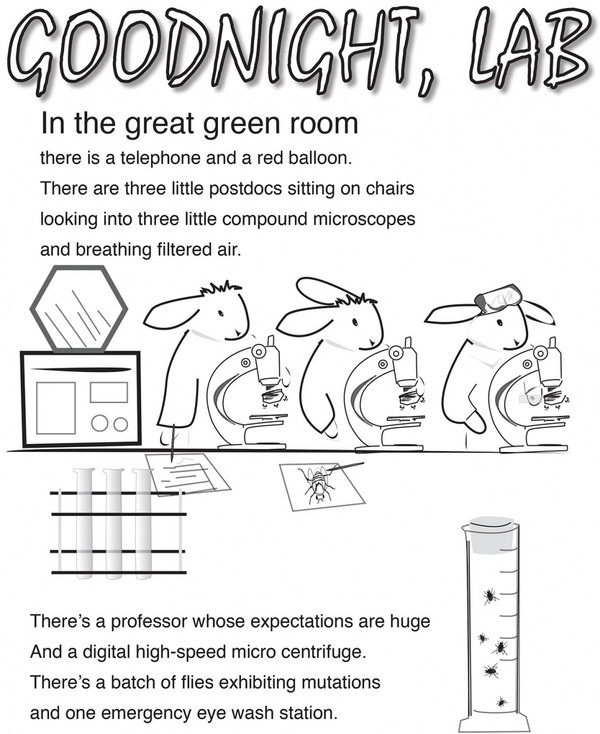 Coloring Book for Young Scientists