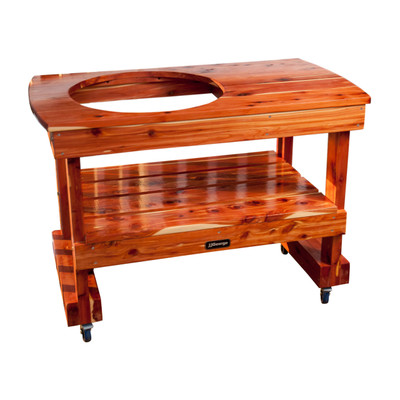 Compact Table for Large Big Green Egg
