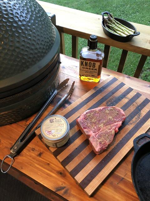 All American Recipe: Bourbon Glazed T-Bone