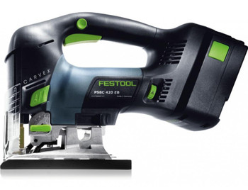 Festool Carvex PSBC 420 EB Li18v PLUS D-Handle Cordless Jigsaw (201385)