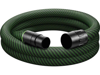 "Festool Antistatic Hose w/ Sleeve 1-7/16"" x 21' (36mm x7m) (500685)"