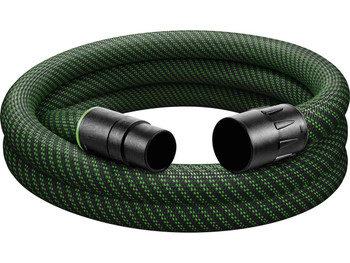 "Festool Antistatic Hose w/ Sleeve 1-1/16"" x 11'5"" (27/32 x 3.5m ) (500677)"