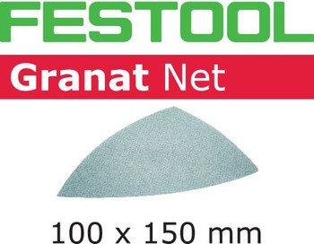 Festool Granat Net   Delta   180 Grit   Pack of 50 (203324)