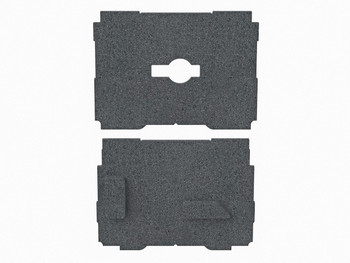 TSO Dual FoamPac Systainer Insert for GRS-16 Family (61-244)