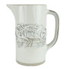 1 qt. Embossed Running Horse, Julep Bar Pitcher