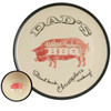 """Personalized 16"""" Round Dad's World Famous BBQ Platter with Bowl Set - Inside of Bowl"""