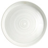 """18"""" Tray Stamped & Embossed in Center in White - Louisville Pottery Collection"""