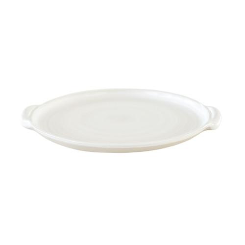 "10"" Round Handle Tray / LPC White"