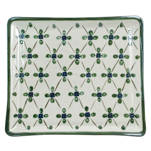 """14"""" Square Tray in French Country"""
