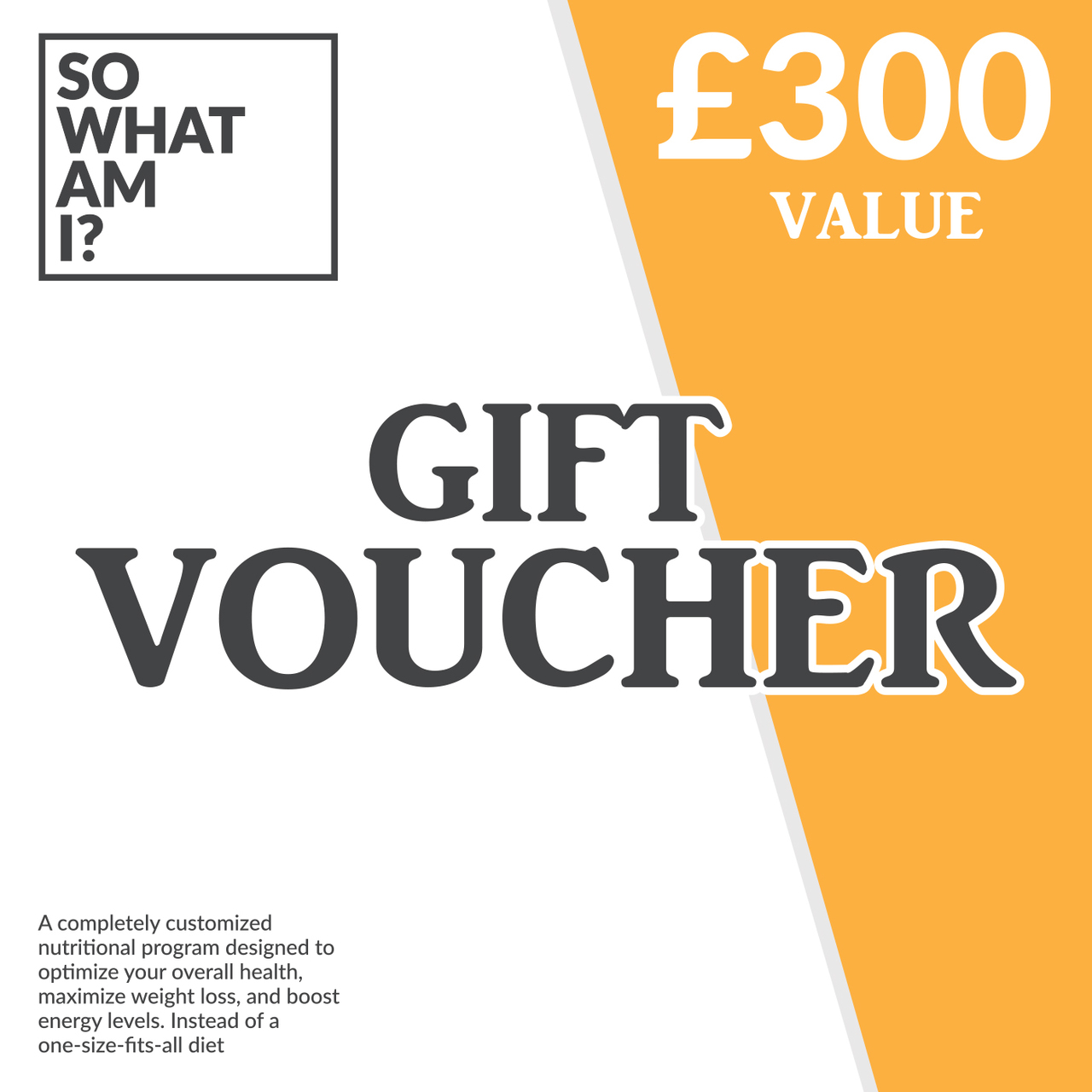 Swami Personalised Nutritional Plan & Consultation Gift Voucher